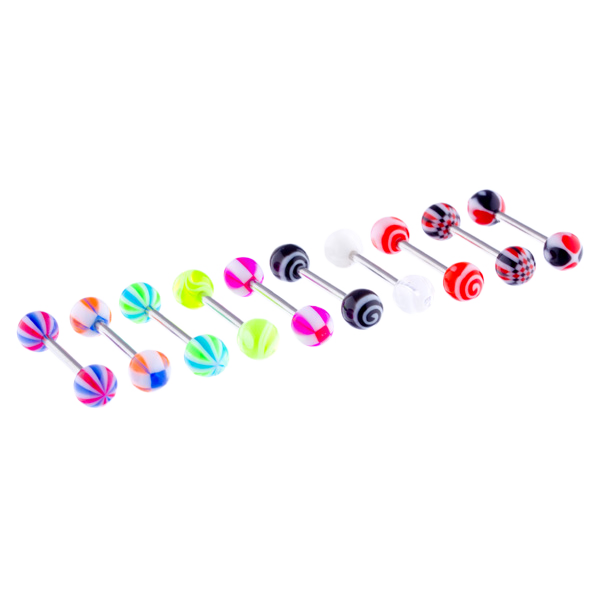 Barbell 1.6x12/14/16mm Fluro UV