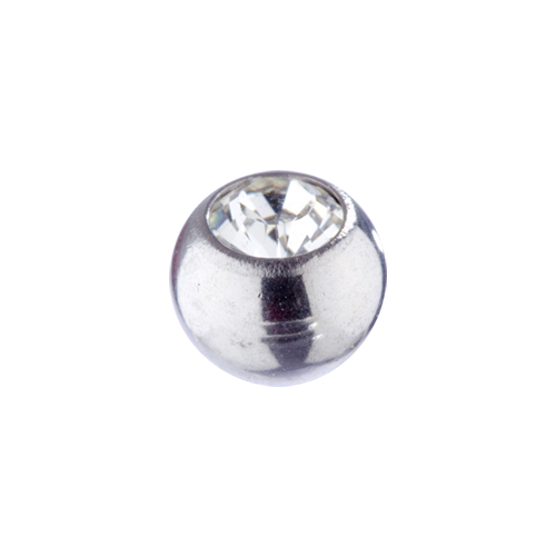 Jewel Ball Clear 1.6x5mm