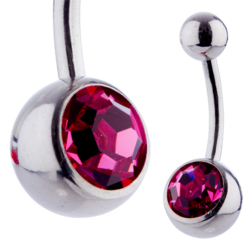 Jewel Banana 10mm Rose
